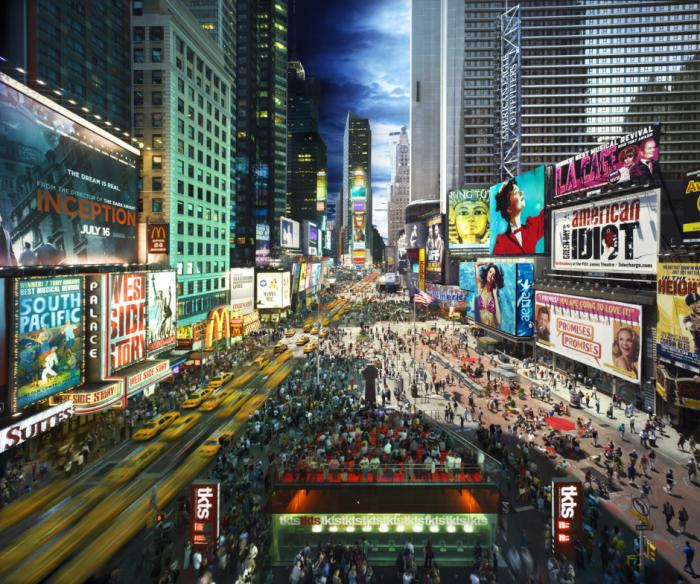 13day to night times square1