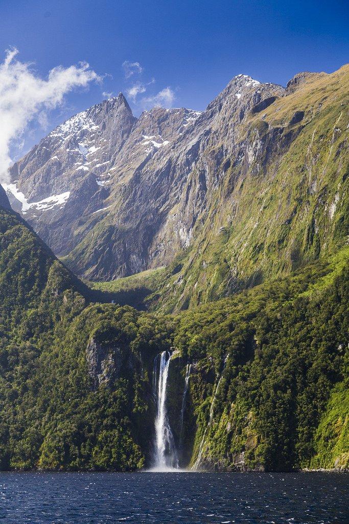 New Zealand - Milford Sound by Tudor ApMadoc