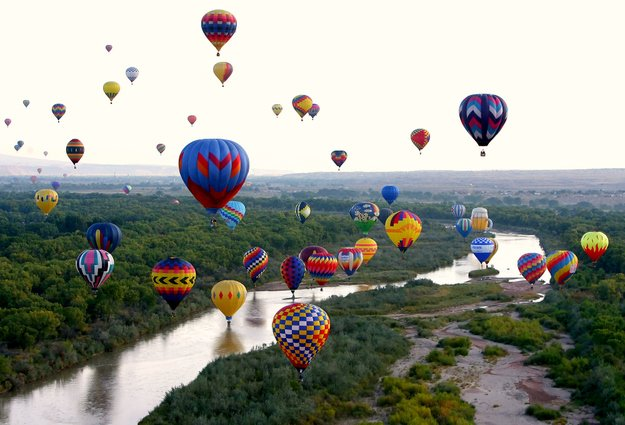 Albuquerque International Balloon Festival — Albuquerque, N.M.
