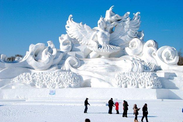 Snow & Ice Festival — Harbin, China