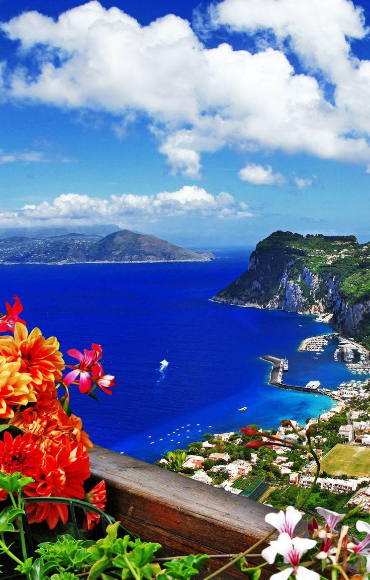 Famous Capri Island, Italy