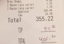 Woman Pays $355 Tab For The Brave Firefighters Who Fought The Blaze In Colton
