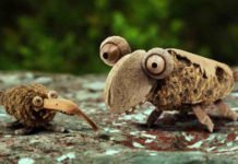 See Amazing Animated French Poem Animals Encourage Snails Celebrate Spring 00