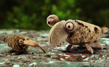 See Amazing Animated French Poem Animals Encourage Snails Celebrate Spring 00
