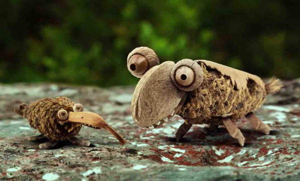 See Amazing Animated French Poem Animals Encourage Snails Celebrate Spring 01